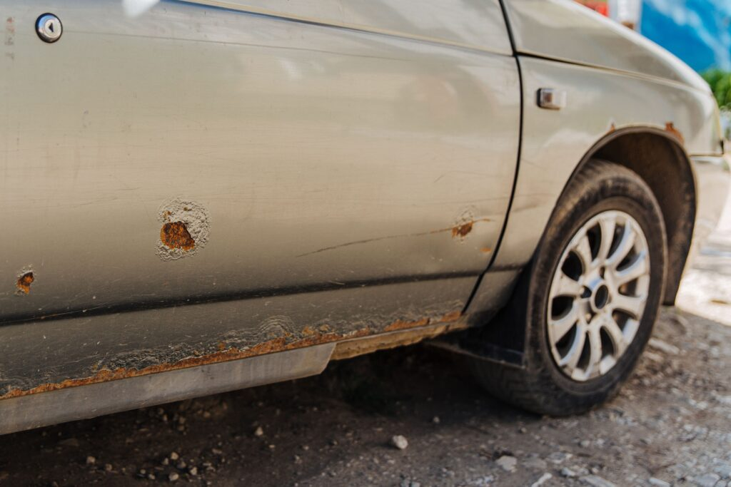 how to fix major rust on a car